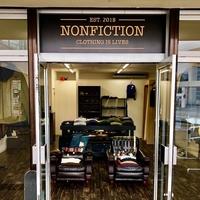 金沢市大徳のセレクトショップ「nonfiction」。LAで買い付けたこだわりのファッションアイテムが並ぶお店!