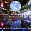 <香港:荃灣>Gaia地球藝術裝置 ~モールに浮かぶ大きな地球藝術装置~
