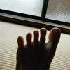 慣性の第十三歩(「下駄に預ける」)、足指の成長記録