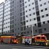 【NZワーホリ】住んでたアパートのサイレンがなり、消防車が来て、部屋から避難した話。