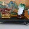 ダイヤブロックで故宮博物院の翠玉白菜を作ったよ!