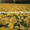 コートの買い替えの記事が一番人気でした。11月によく読まれた記事ベスト5