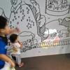 動物園で体験型プロジェクションマッピングを体験