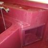 浴槽の水垢掃除in旭川のハウスクリーニング