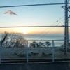 強風の西伊豆海岸線で一年ぶんの富士山を見て来ました。