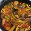 茄子が食べたくてトマト煮込みを作りました。