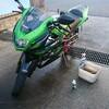 NINJA150RR 洗車チェンシコ
