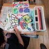 2年生:図工 世界に一つだけのチョウ