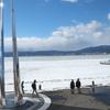 冬の信州旅(諏訪湖・諏訪大社 (lake suwa& suwa-taisha shine))