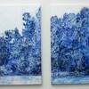 ギャラリーOUT of PLACEの関智生展「青花」を見る