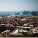 Italia 海の見える窓辺から