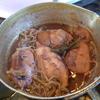幸運な病のレシピ( 1551 )昼:イカ飯、煮しめ