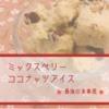 【糖質オフ】最強の食事風ミックスベリーココナッツアイスを作ってみた。