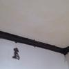 また下水枡溢れた・天井クロス・笠木ウレタン・トイレクッションフロア貼った
