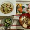 2016/10/02の夕食