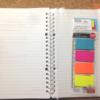 【ダイソー】バインダーに書類などを入れるクリアポケット 整理や保管に便利