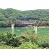 野岩鉄道会津鬼怒川線、湯西川橋梁