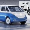 ● VWが3輪電動アシスト自転車発表、2019年市販へ…ロサンゼルスモーターショー2018