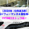 【株式】週間運用パフォーマンス&保有株一覧(2020.10.16時点) PRTIMESストップ高!