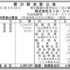 株式会社エトロ・ジャパン 第32期決算公告