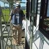 倉敷市 鉄骨造の家 大空間の邸宅 JIOによる防水検査