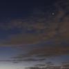 東雲(しののめ)の水星、木星、火星