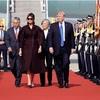 米韓首脳会談、北朝鮮への圧力強化で一致
