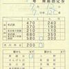 東武鉄道  補充座席指定券 3