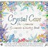 大人塗り絵 Crystal Cave The Ultimate Geometric Coloring Book