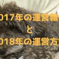 【運営報告】2017年を振り返ってみる and 2018年の運営方針を考える