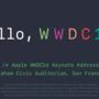 WWDC 2016についてSiriに聞いてみた!