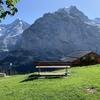 2019 9月スイスひとり旅 その20(晴れのミューレンハイキング 後編)