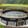 上市川沿岸土地改良区円筒分水場(富山県上市)