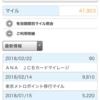 2月のANAマイル獲得結果報告