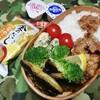 No.184 サバカレーソテーと豚肉唐揚げ