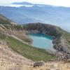 噴火した御嶽山~美しすぎる火口湖・三ノ池