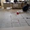 事務所の床張替