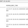 Oracleでオプティマイザ統計情報の収集時刻を確認する
