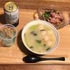 鶏団子パイタンスープ   9/23   月曜     夜