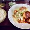 🚩外食日記(162)    宮崎ランチ   「あなたの街の定食屋さん」②より、【チキ・南定食】‼️