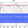 自作2wayスピーカーのネットワークのクロスオーバーをシミュレーションを用いて設計し直す