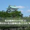 名古屋旅行といえばココ、絶対外せない名古屋城の見どころをご紹介
