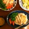 ジャスミンライスでカオマンガイ(タイの鶏飯)