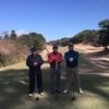 今日は今年最後のゴルフラウンドでした。