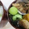 ナスと厚揚げの煮物(炒め物?)弁当