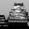 真冬の姫路城。