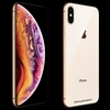 新型「iPhone XS」ゴールドモデルの画像