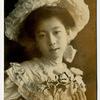 100年前の美人絵葉書 写真修正+カラー化加工