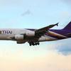 【タイ国際航空】期間限定でA380をセントレア投入へ(3/2~3/25)
