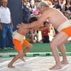 地球(日本)の真裏🌎で...『いちご祭り』と『相撲』...🍓